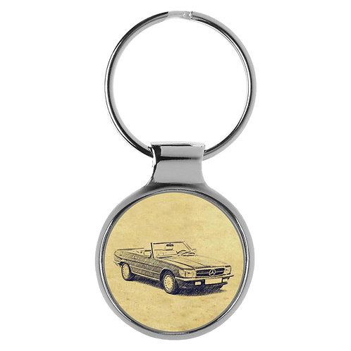 Für Mercedes SL107 Fan Schlüsselanhänger A-4840