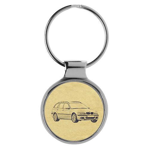 Für BMW E46 Touring Fan Schlüsselanhänger A-4056