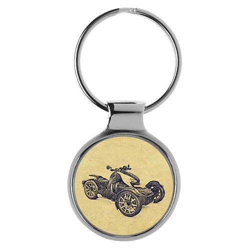Für Can-Am Ryker Rally Fan Schlüsselanhänger A-4699