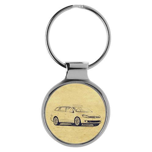 Für VW Golf VI Variant Fan Schlüsselanhänger A-5041