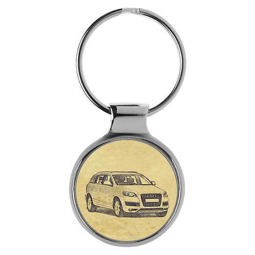 Für Audi Q7 4L Modellpflege Fan Schlüsselanhänger A-5139