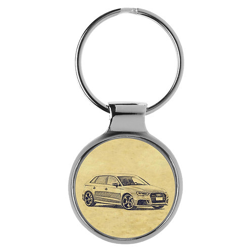 Für Audi RS 8V Sportback Fan Schlüsselanhänger A-5098