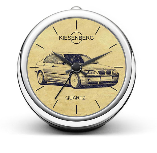 Für BMW E46 Limousine Modellpflege Fan Tischuhr T-4815