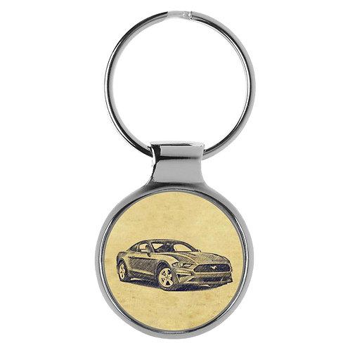Für Ford Mustang VI Fan Schlüsselanhänger A-4921