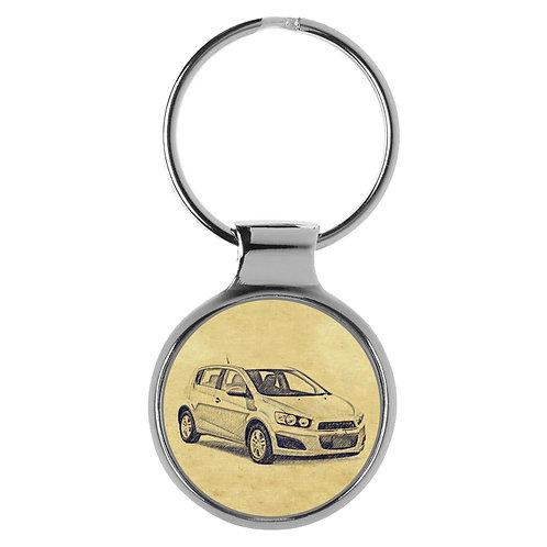 Für Chevrolet Aveo Fan Schlüsselanhänger A-4703