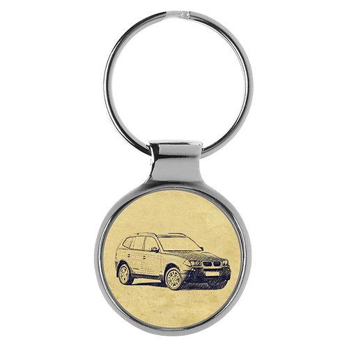 Für BMW X3 E83 Fan Schlüsselanhänger A-4625