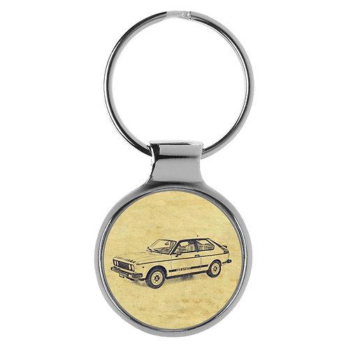 Für FIAT 128 Sport Fan Schlüsselanhänger A-20612