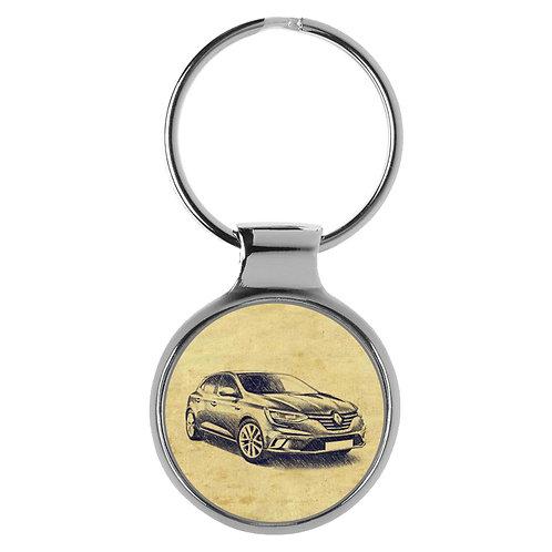 Für Renault Megane IV Fan Schlüsselanhänger A-4154