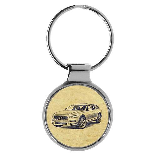 Für Volvo V90 Fan Schlüsselanhänger A-20361