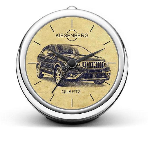 Für Suzuki SX4 S-Cross II Modellpflege Fan Tischuhr T-4842