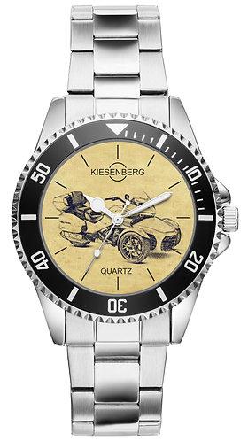 Für Can-Am Spyder F3 Limited Fan Armbanduhr 4698