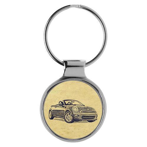 Für Mini II Cabrio Fan Schlüsselanhänger A-4736