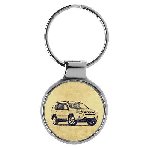 Für Nissan X-Trail II Fan Schlüsselanhänger A-5704