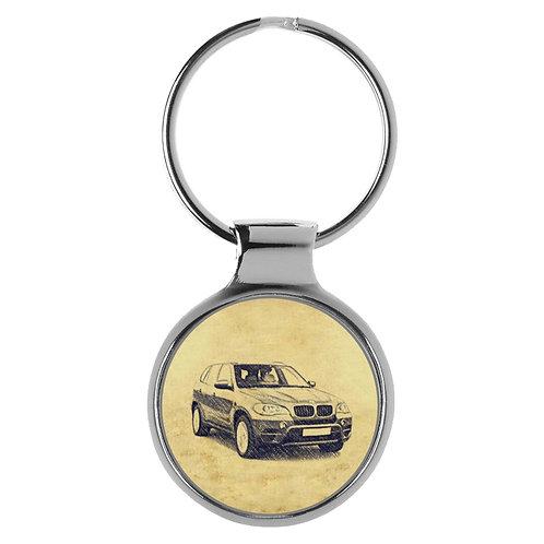 Für BMW X5 E70 Modellpflege Fan Schlüsselanhänger A-5438