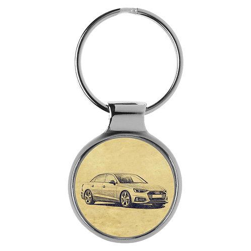 Für Audi A4 B9 Limousine Fan Schlüsselanhänger A-5108