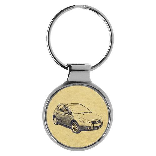Für FIAT Sedici Fan Schlüsselanhänger A-4304