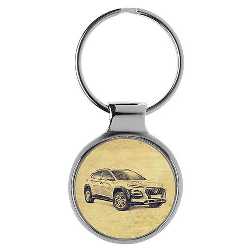 Für Hyundai Kona Fan Schlüsselanhänger A-20581