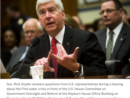 Former Gov. Snyder subject to deposition in Flint water case, federal court rules