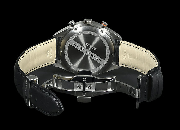 CHARADE LEATHER STRAP black