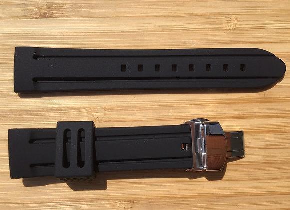 Bracelet DONINGTON Silicone noir