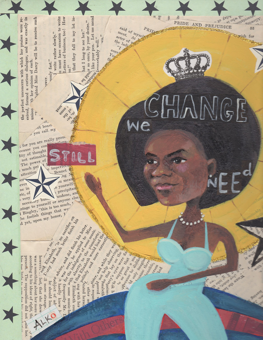 Michelle Obama / Feminist Art Show