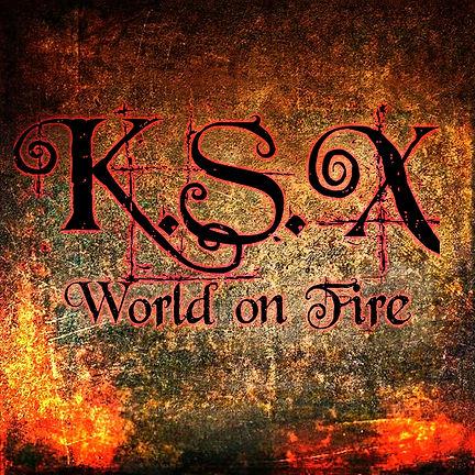 K.S.X World on Fire Single on itunes