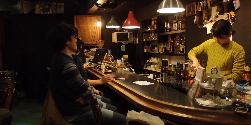 17-23:00 ライブの無いジャズ喫茶営業