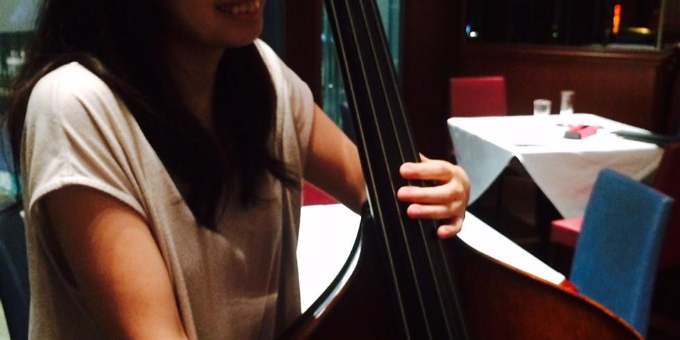牧知恵子piano 長谷川朗sax 坂井美保bass