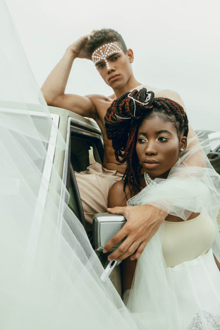 Photographer: Paige Miller Model: Photographer: Kaia Imani Model: Ife Kehinde and Justice Beverly Stylist: Lauren Aguirre