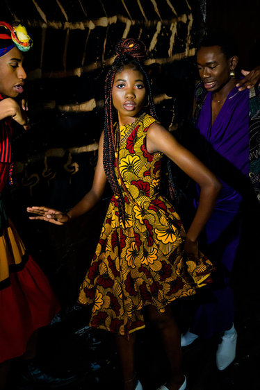 Photographer: Kaia Imani Models: Brandon Porter, Ife Kehinde, Zion Mpeye