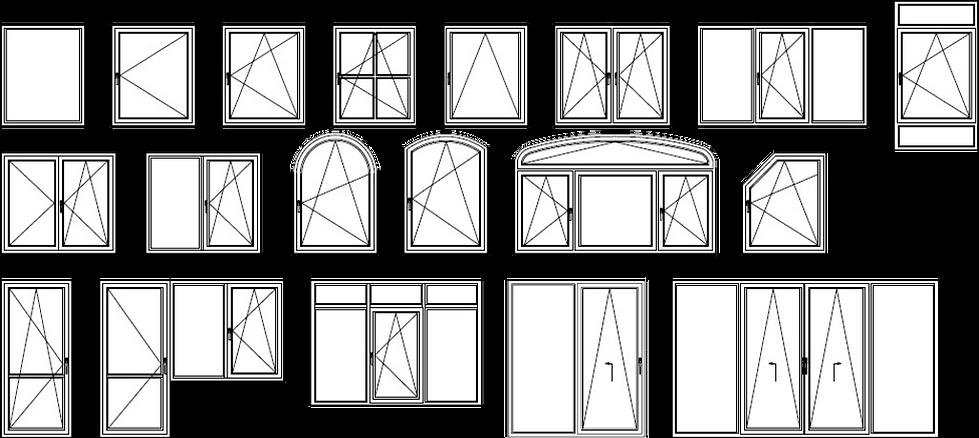 окна любой сложности индивидуальный подх