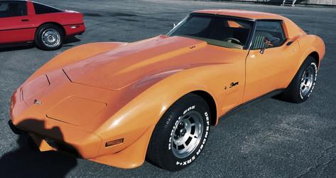 Corvette heading to France!