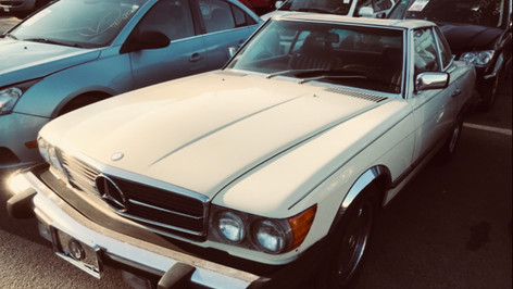 A classic Mercedes going home to Germany