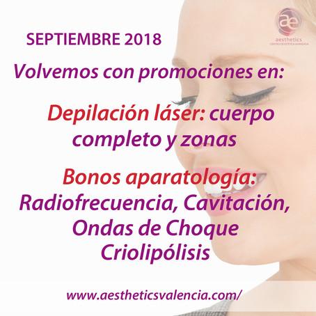 Promociones Septiembre 2018