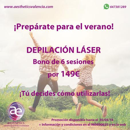 Promoción Abril de Depilación Láser