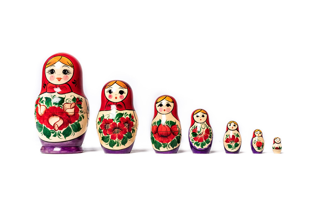 wooden toys russian dolls
