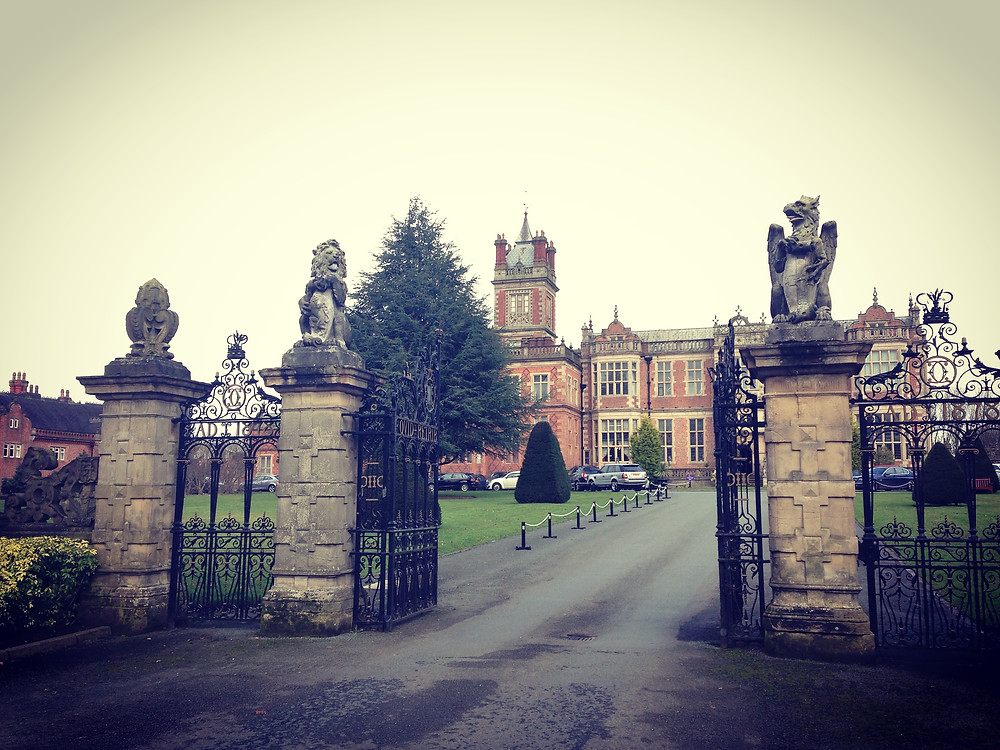 Crewe Hall - iphone photo