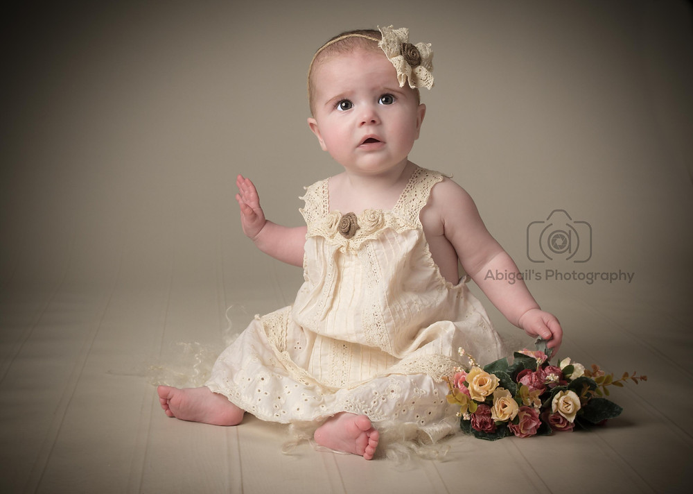 Photograph of Scarlett, 6 months old