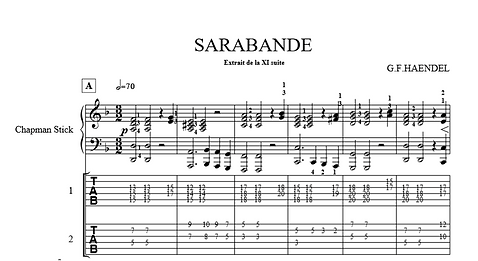 capture d'ecran sarabande extrait music.