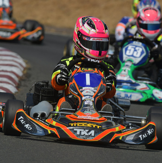 Abbi Pulling - Karting - Shennington (24