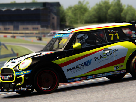 Solid results see Coates climb eSeries standings