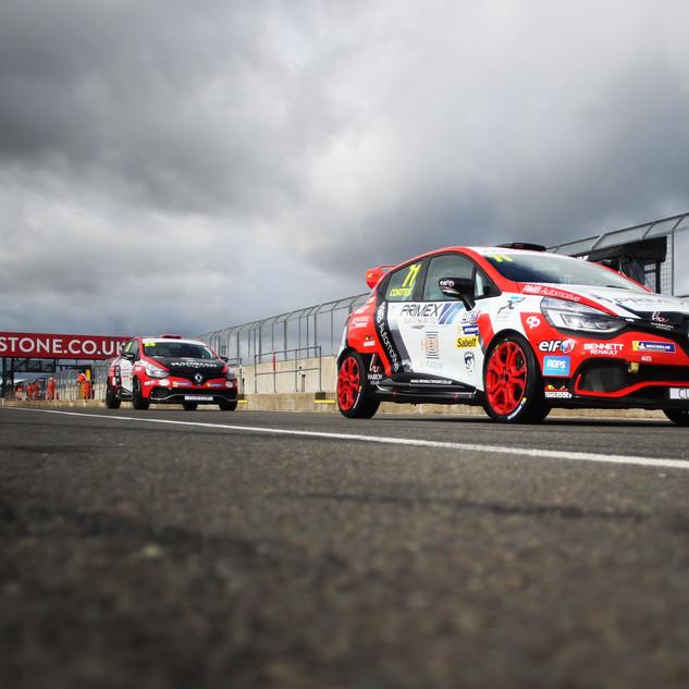 Max Coates - Silverstone Clio Cup - cred