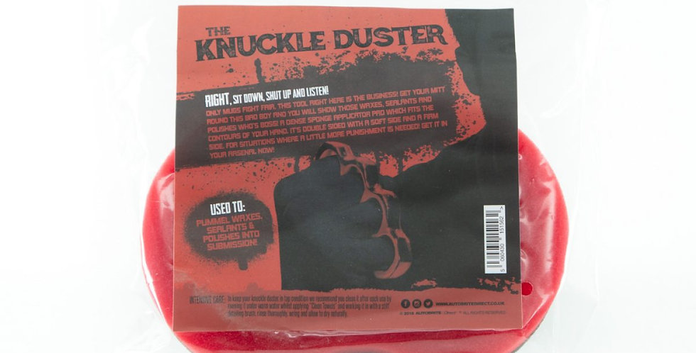 The Knuckle Duster – Applicator Pad