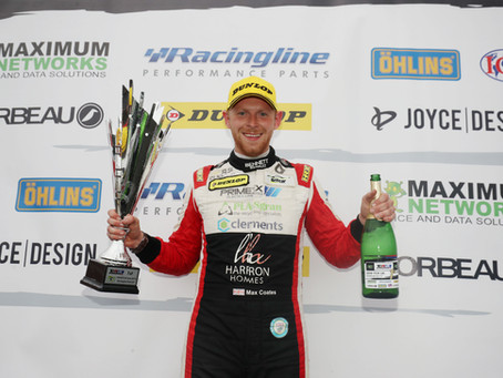 Coates Sails to Second Donington Win