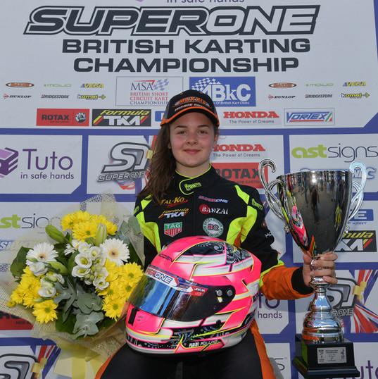 Abbi Pulling - Karting - Shennington (17