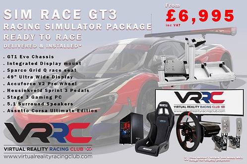 Sim Race GT3 Complete Simulator