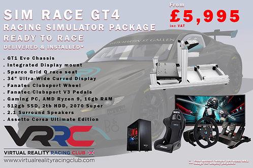 Sim Race GT4 Complete Simulator