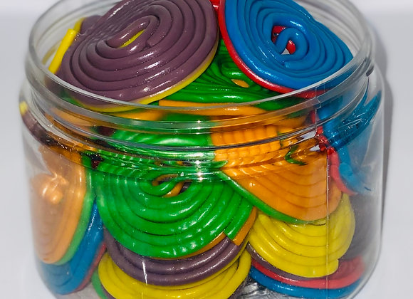 Two-Tone Licorice Wheels