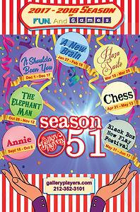 Season 51 poster designed by Mark Harborth