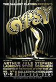 Poster for Mark Harborth's production of Gypsy
